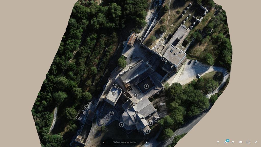 Visite virtuelle de l'Abbaye de Montmajour (3)