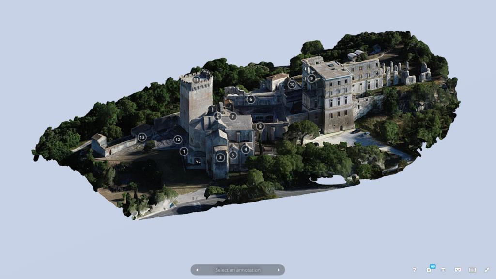 Visite virtuelle de l'Abbaye de Montmajour (4)