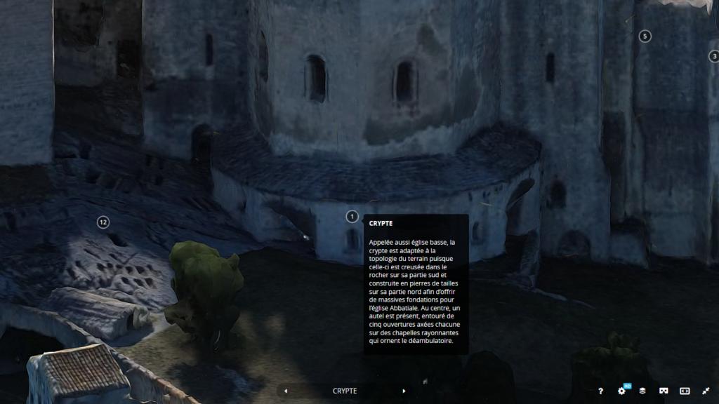 Visite virtuelle de l'Abbaye de Montmajour (6)