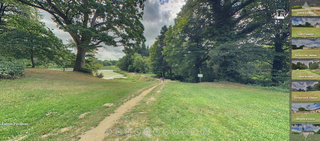 Visite virtuelle du domaine de Kerguéhennec (3)