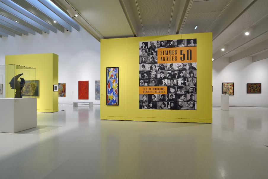 Vue de l'exposition Femmes Années 50 (3)