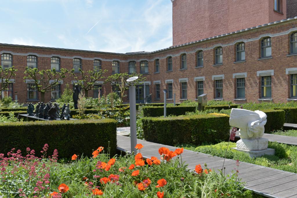 Vue des jardins de la Piscine de Roubaix (1)