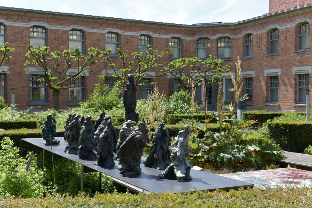 Vue des jardins de la Piscine de Roubaix (2)