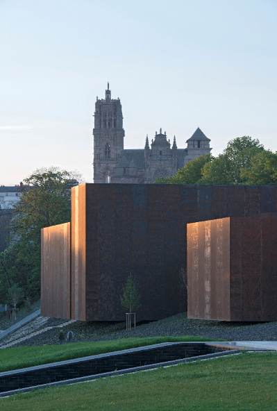 Vue du musée Soulages Rodez (2)