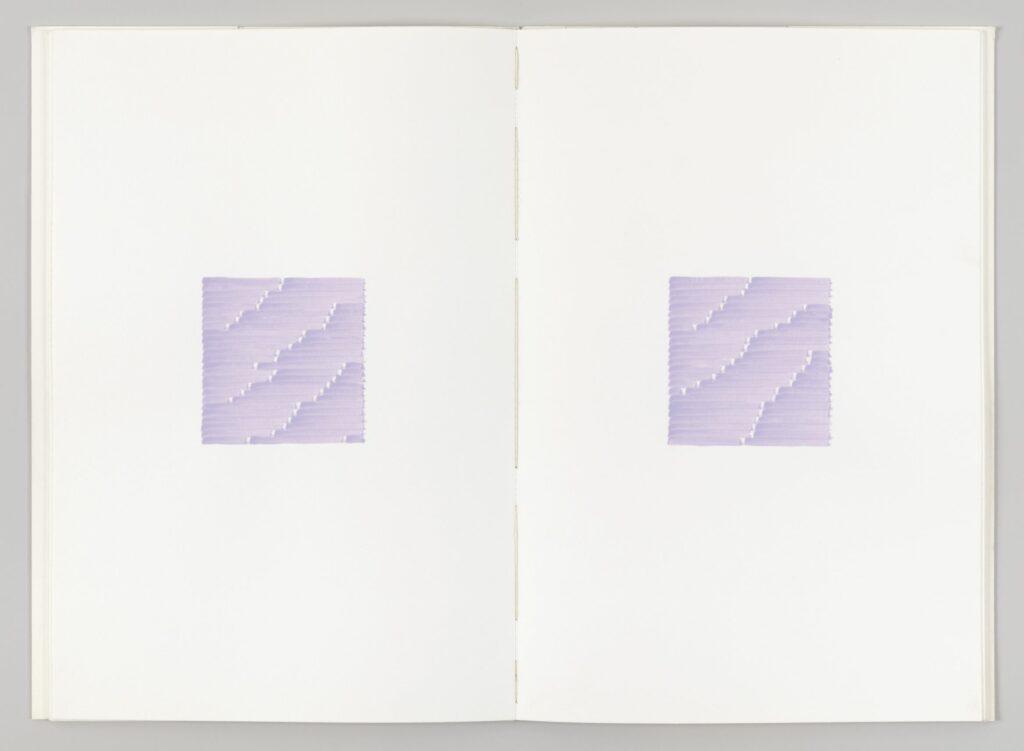Irma Blank, Radical Writings, Il corpo del silenzio, 1983