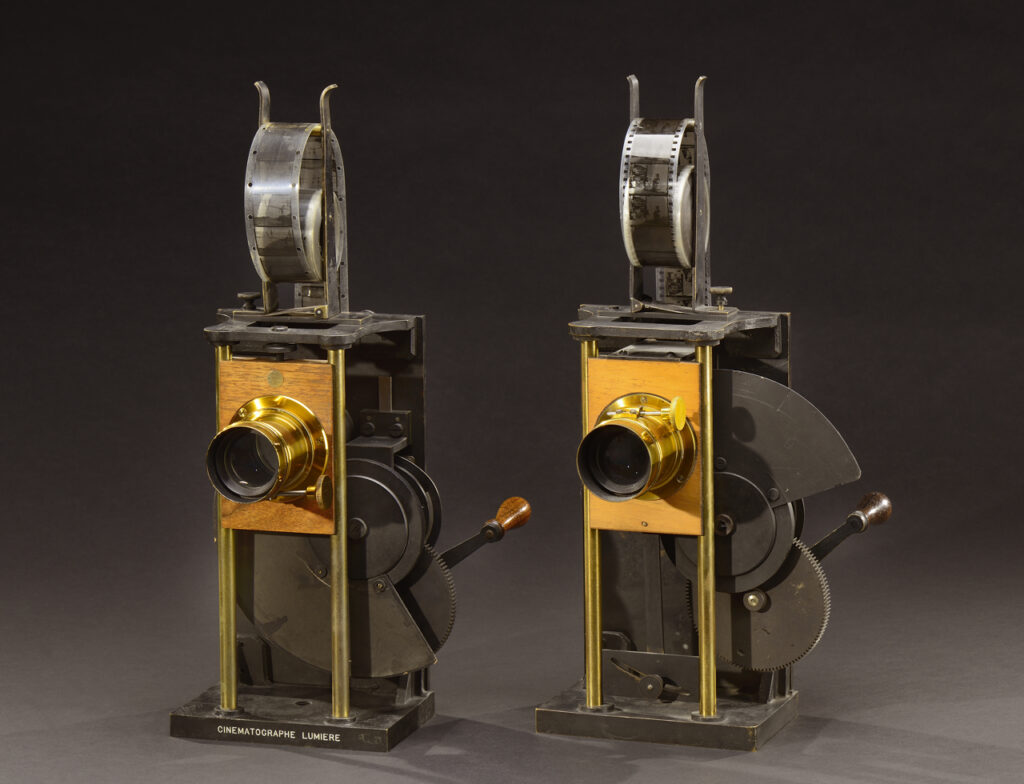Cinématographe spécial projection 1897