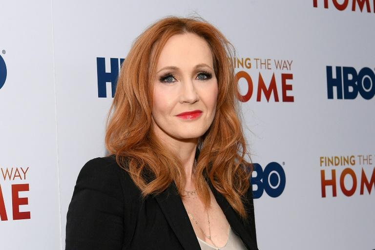 L'écrivaine britannique J.K. Rowling, auteur notamment de la saga Harry Potter, le 11 décembre 2019 à New York