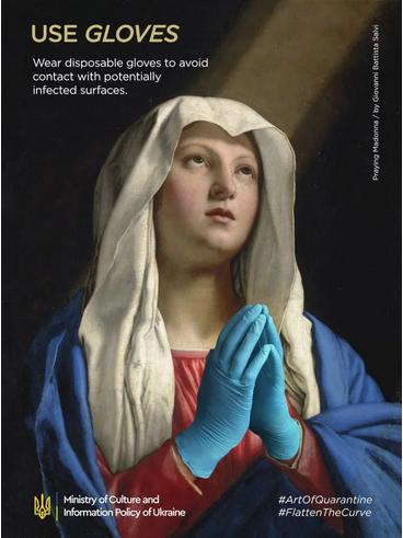"""Madonna in prayer"", Giovanni Battista Salvi"