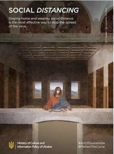 """La Cène"", Léonard de Vinci"