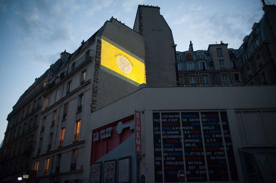 La Clef Revival projette des films sur les murs de Paris