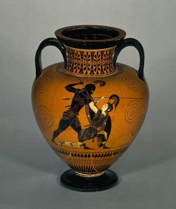 Amphore de la Grèce ancienne au British Museum