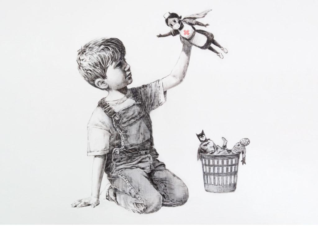 """""""Game Changer"""" de Banksy (2020)"""