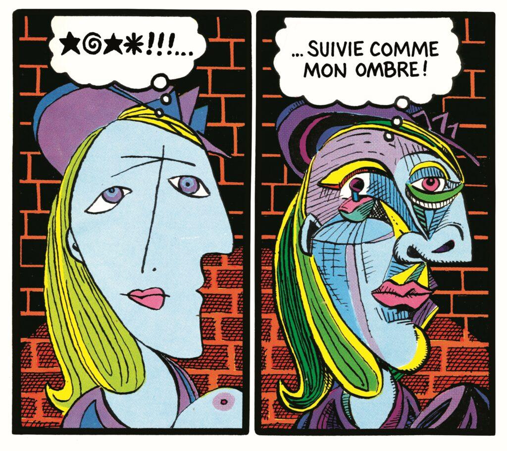 """Art Spiegelman - Détail de la quatrième de couverture de """"Breakdowns. Portrait de l'artiste en jeune %@§*!"""""""