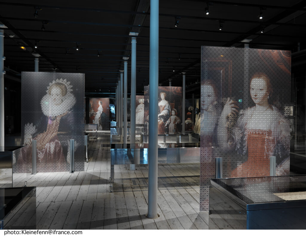 Collection permanente Cité de la dentelle et de la mode - La dentelle à la main, séquence 1, CIDM