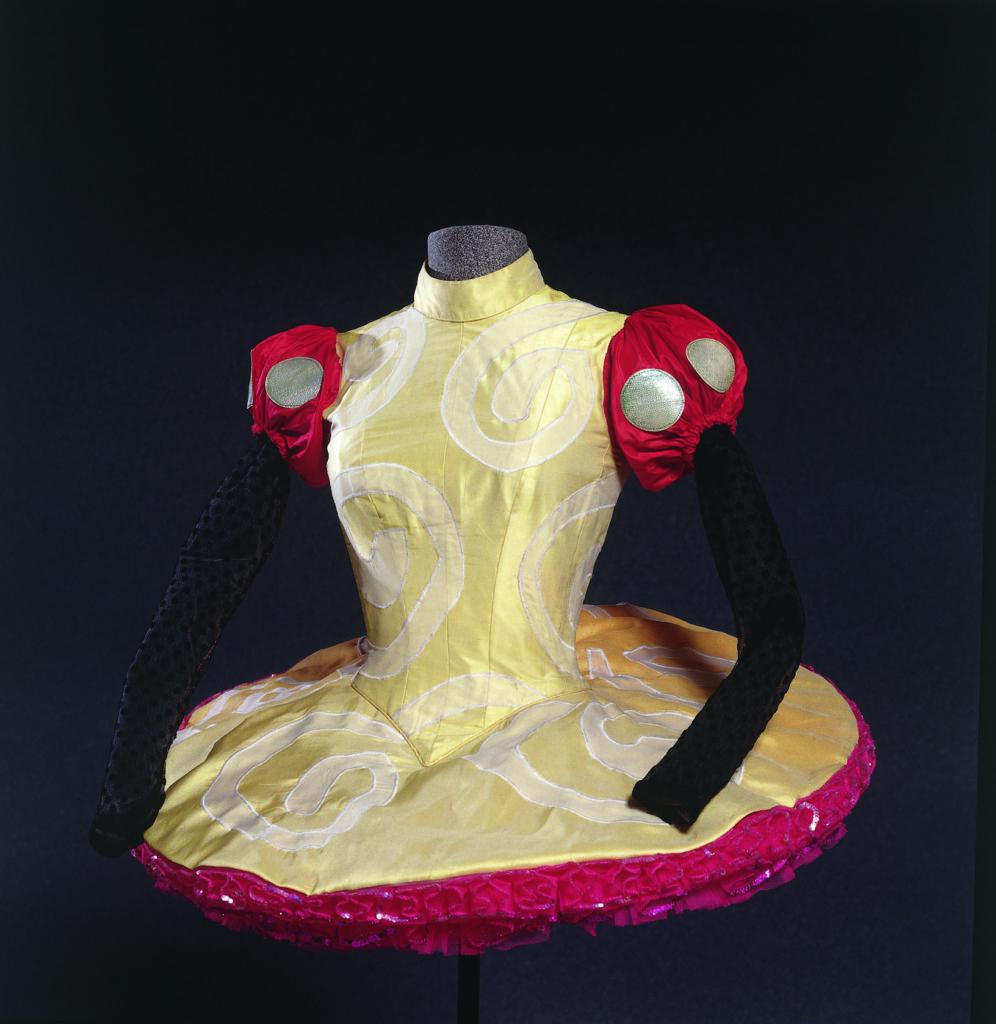 Costume de Christian Lacroix pour Les anges ternis