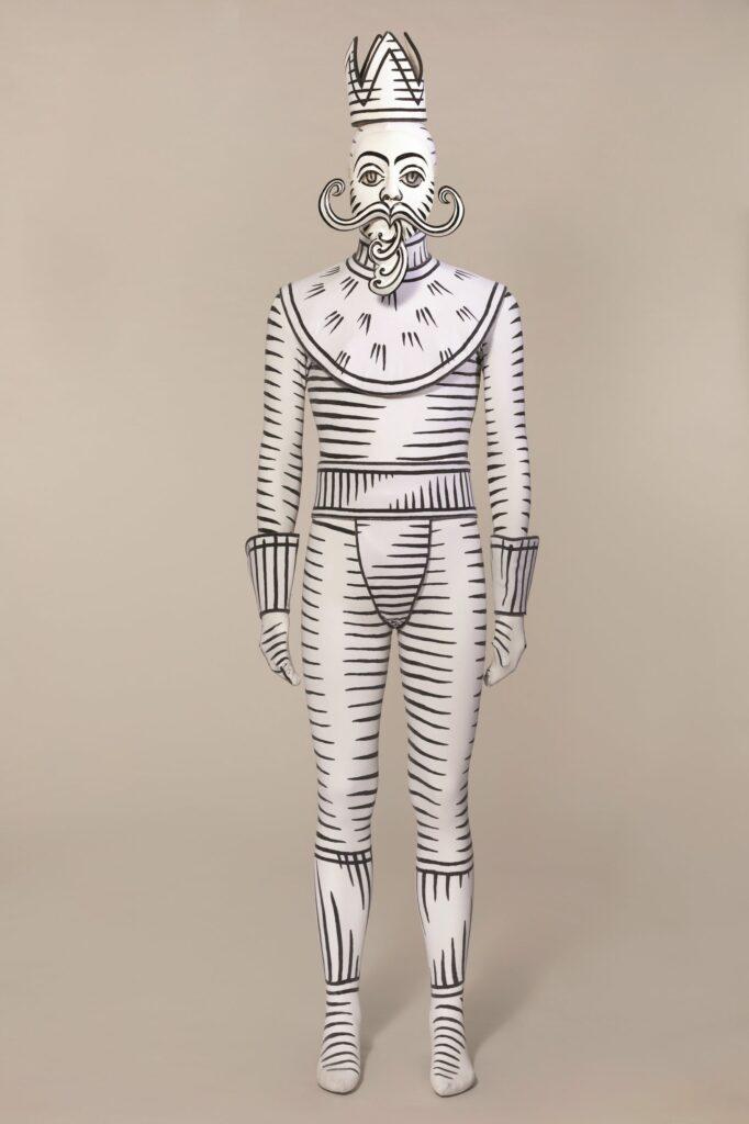 Costume de Jérôme Kaplan pour Casse-Noisette circus , chorégraphie de JeanChristophe Maillot. Les Ballets de Monte-Carlo, 1999.