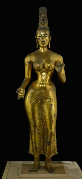 Sculpture de la déesse bouddhiste Tara au British Museum