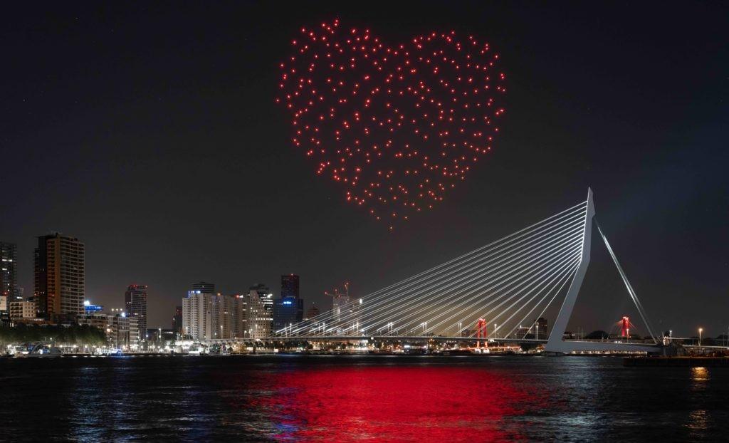 """Performance """"Franchise Freedom Rotterdam"""" conçue par le duo Drift"""