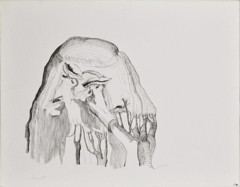 Michèle Katz, Secret, 1975
