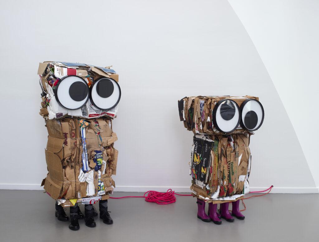 Rob Pruitt, Cardboard Monster & Cardboard, 2010