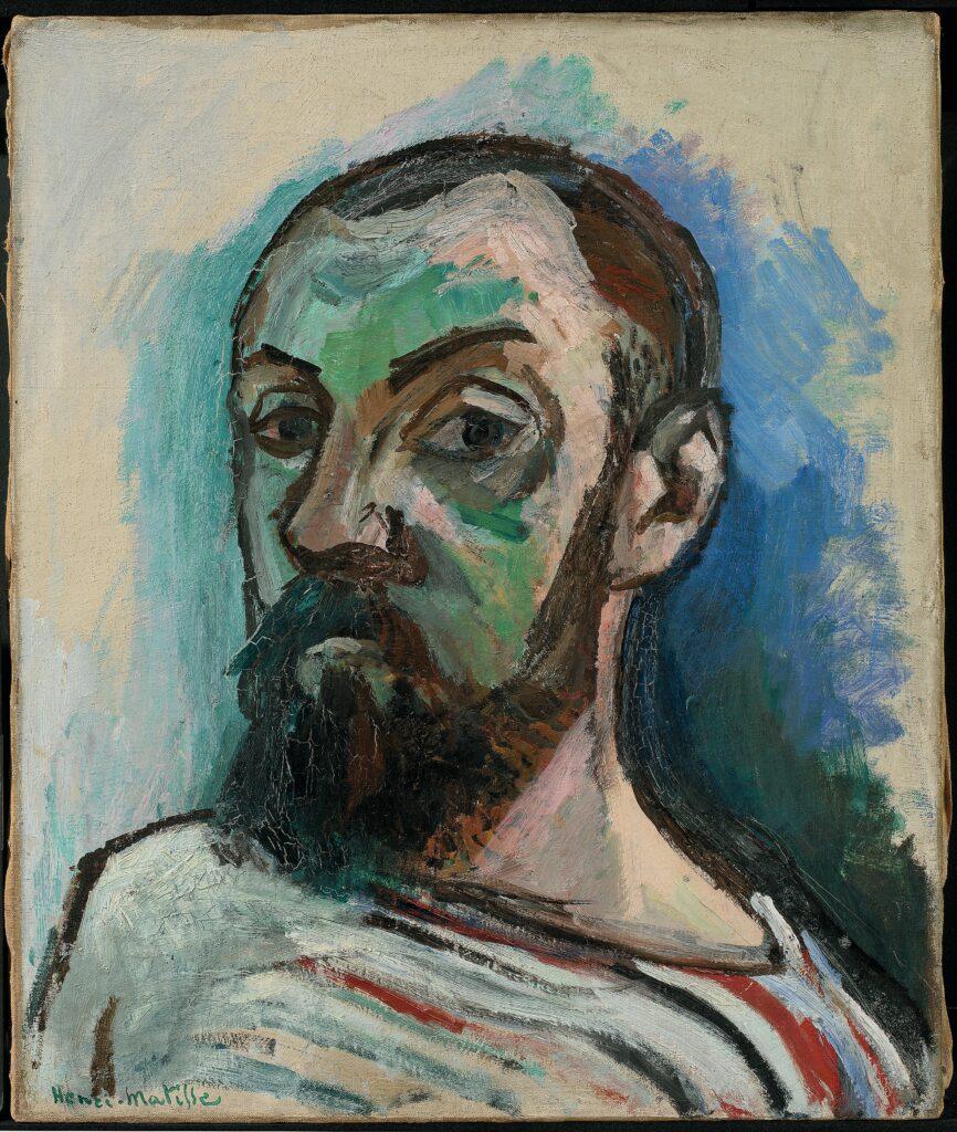 Matisse, Autoportrait, 1906