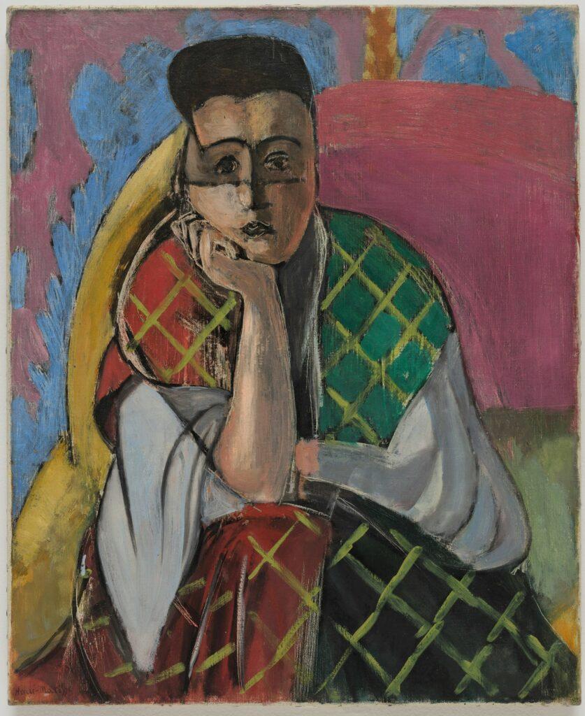 Matisse, Femme à la voilette, 1927