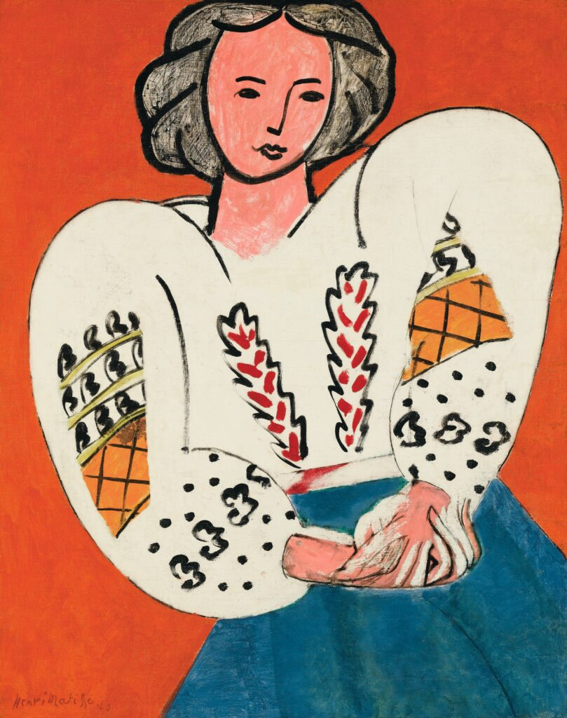 Matisse, La Blouse roumaine