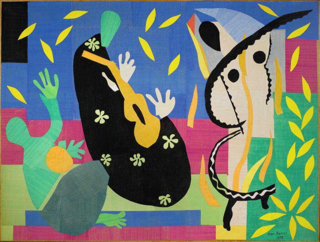 Matisse, La Tristesse du roi, 1952