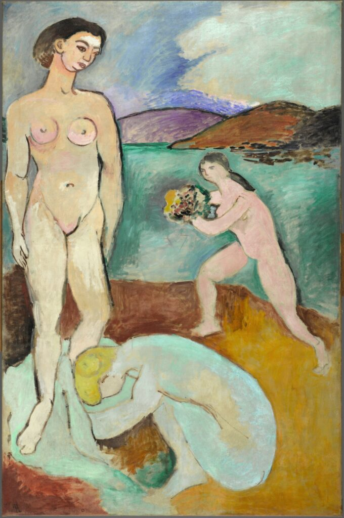 Matisse, Le Luxe I, 1907