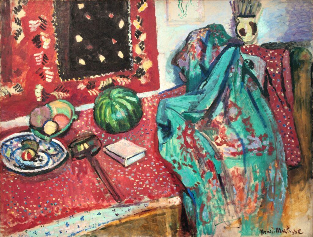 Matisse, Les tapis rouges, 1906