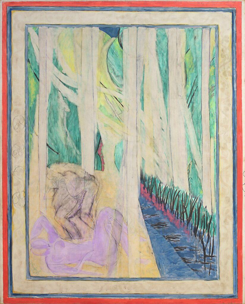 Matisse, Nymphe dans la forêt (La verdure), 1935-1942-43