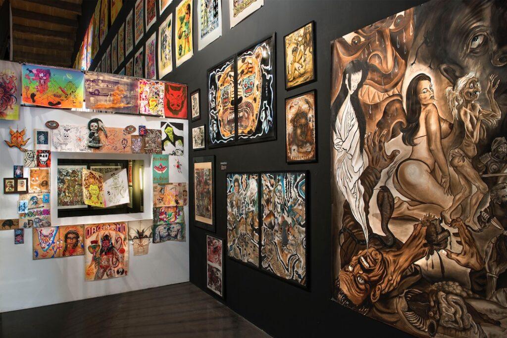 Exposition Mondo dernier cri -Artistes mexicains