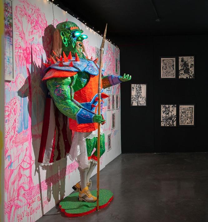 Exposition Mondo dernier cri - Piet du Congo - Pascal Leyder - Pakito Bolino