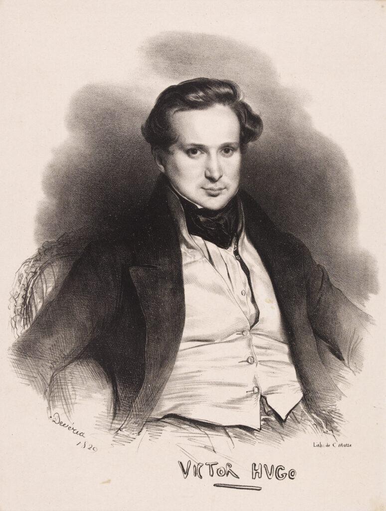 Achille Devéria, Portrait de Victor Hugo, 1829