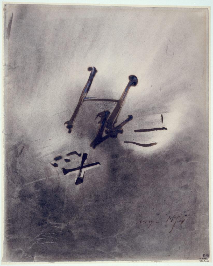 Victor Hugo, Exil (ou initiales)