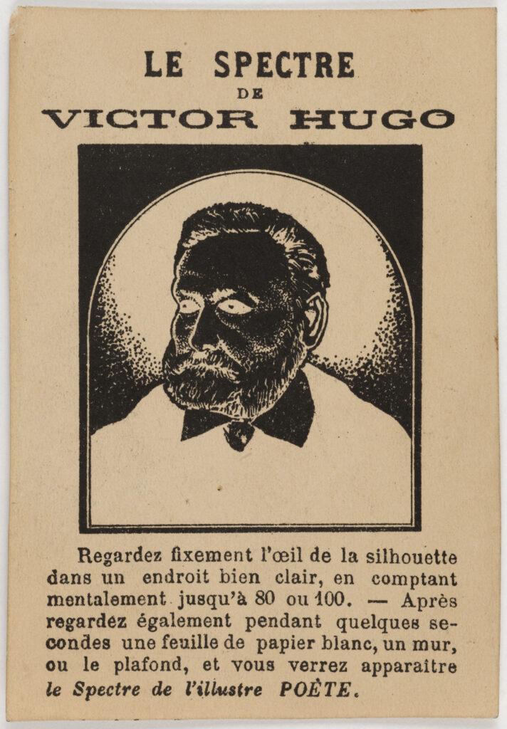 Anonyme, Le spectre de Victor Hugo