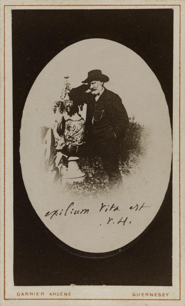Arsène Garnier, Victor Hugo Exilium Vita est, 1864-1868