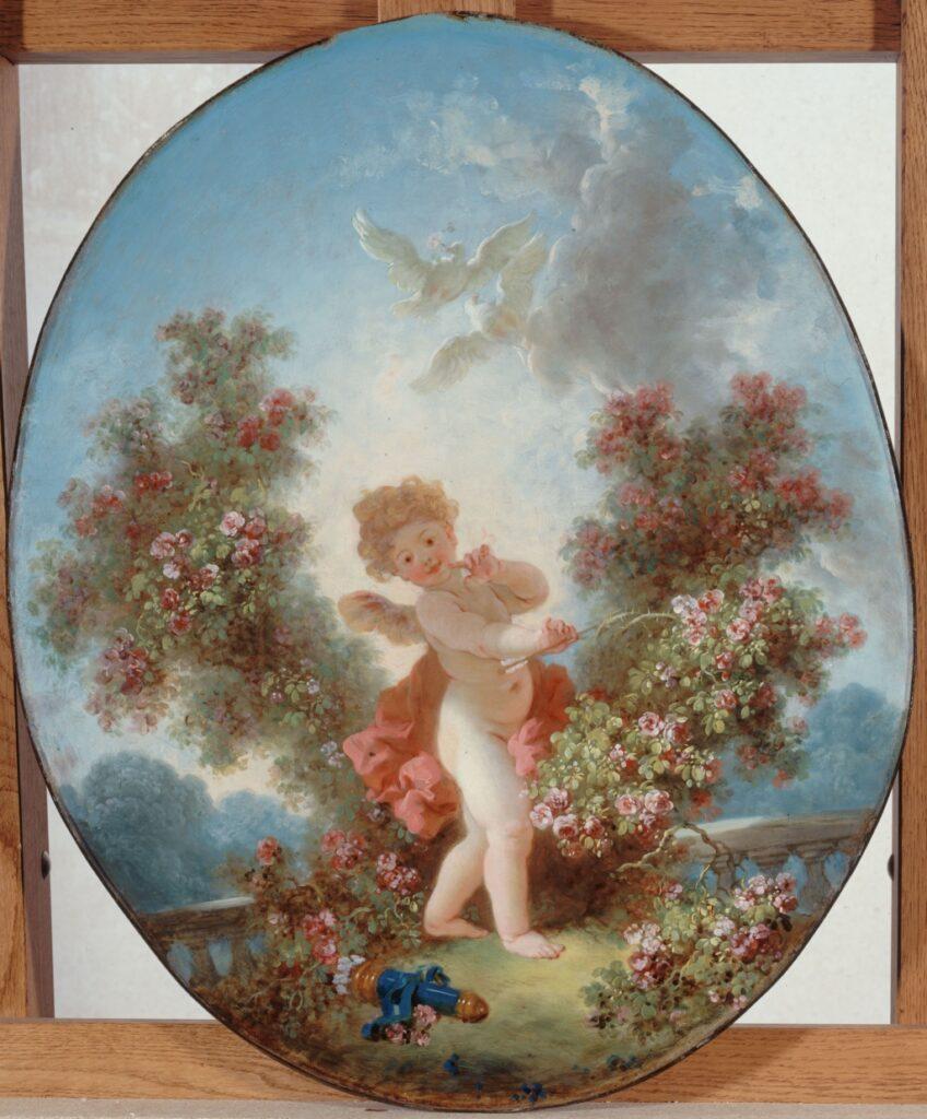Fragonard, L'Amour en sentinelle