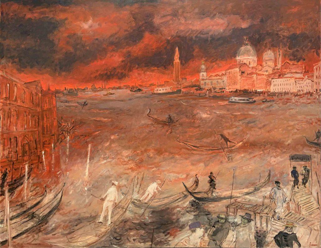 """Fusaro, """"La traversée du Grand Canal Venise"""""""