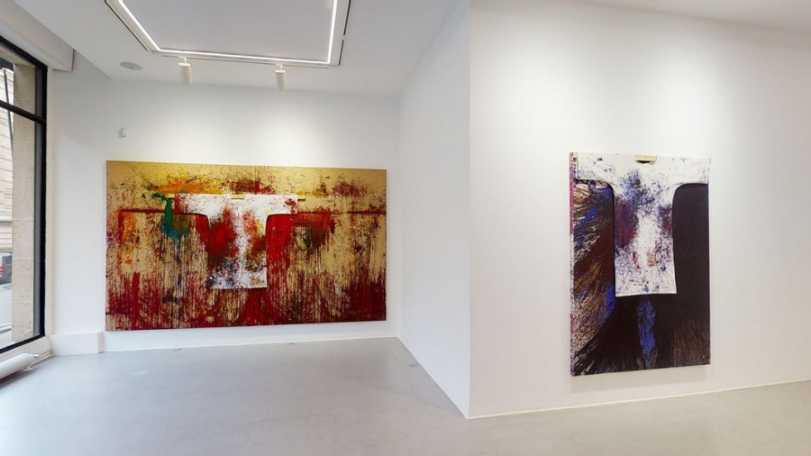 "Hermann Nitsch ""The Shape of colour"" à la Galerie RX"