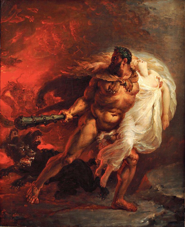 Joseph Franque, Hercule arrachant Alceste des Enfers, vers 1806 associée à la musique de Bonnie Tyler - Holding out for a hero