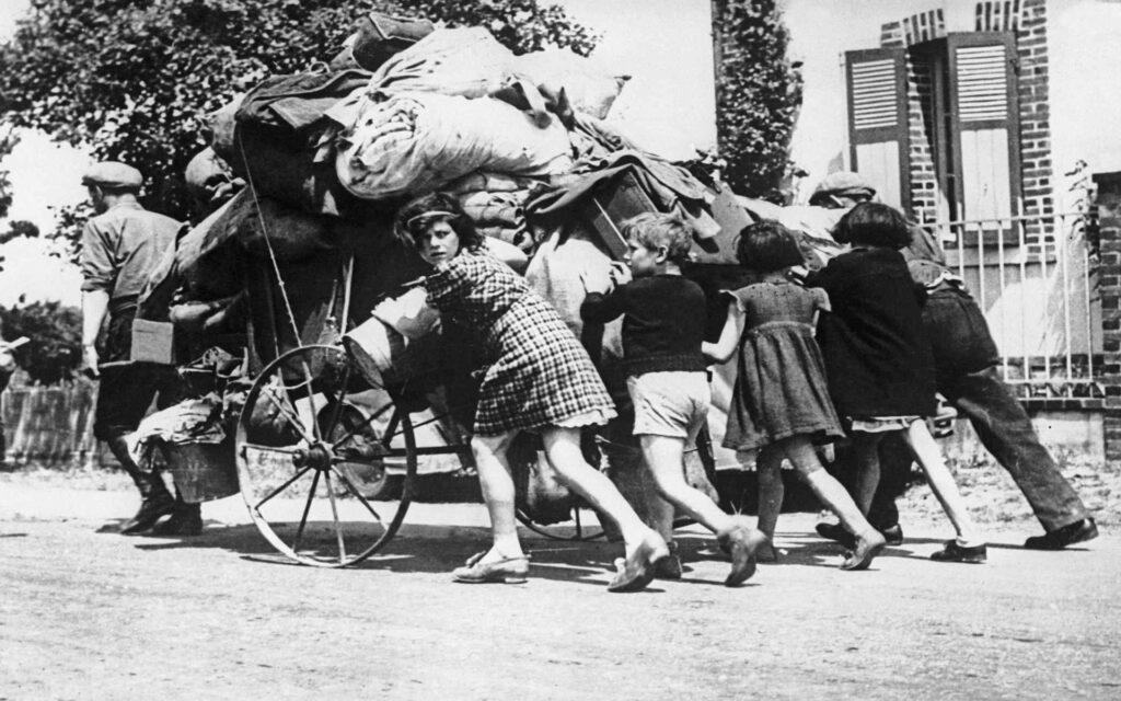 L'Exode, mai-juin 1940