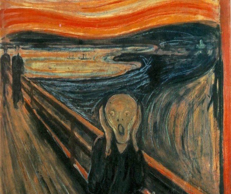 """""""Le Cri"""" d'Edvard Munch"""