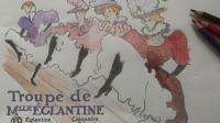 « C », capture d'écran de la page Facebook du Musée Toulouse-Lautrec