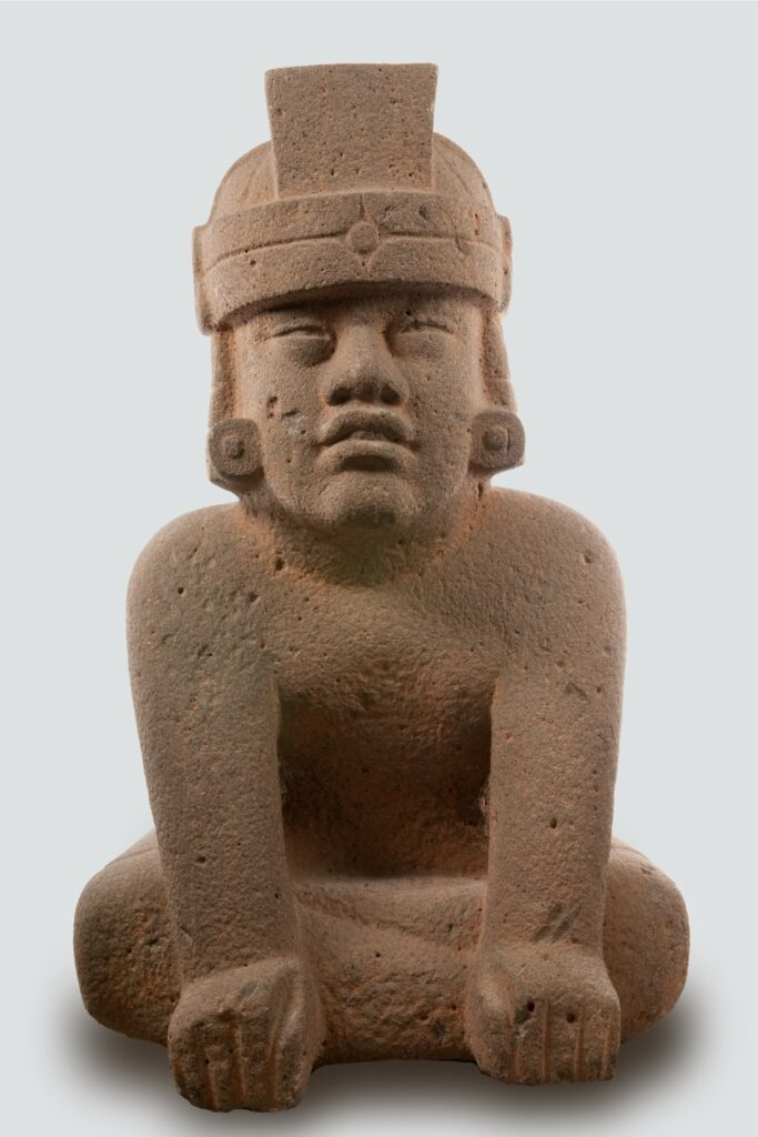 "Sculpture olmèque ""Escultura El Príncipe"""
