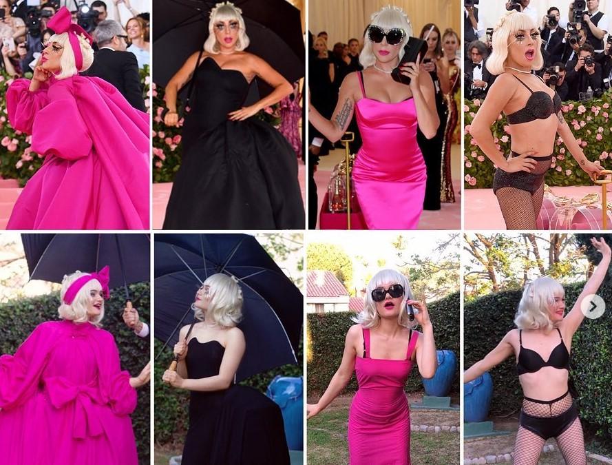 Une internaute reproduit les tenues de Lady Gaga pour le Met Gala Challenge