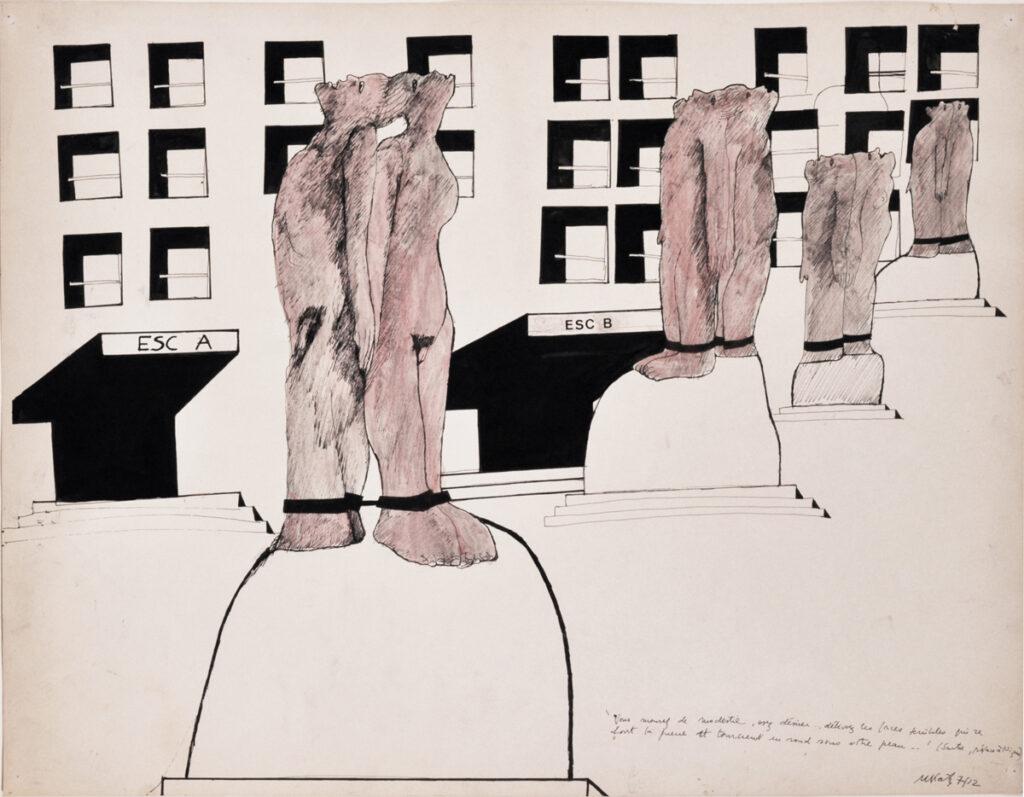 Michèle KATZ, Osez désirer ! Esc B, 1971