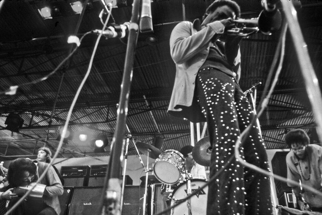 Miles Davis au Festival de l'Île de Wight en 1970
