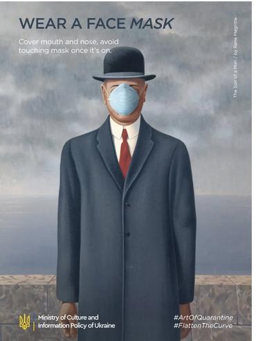 """""""Le Fils de l'homme"""", René Magritte"""