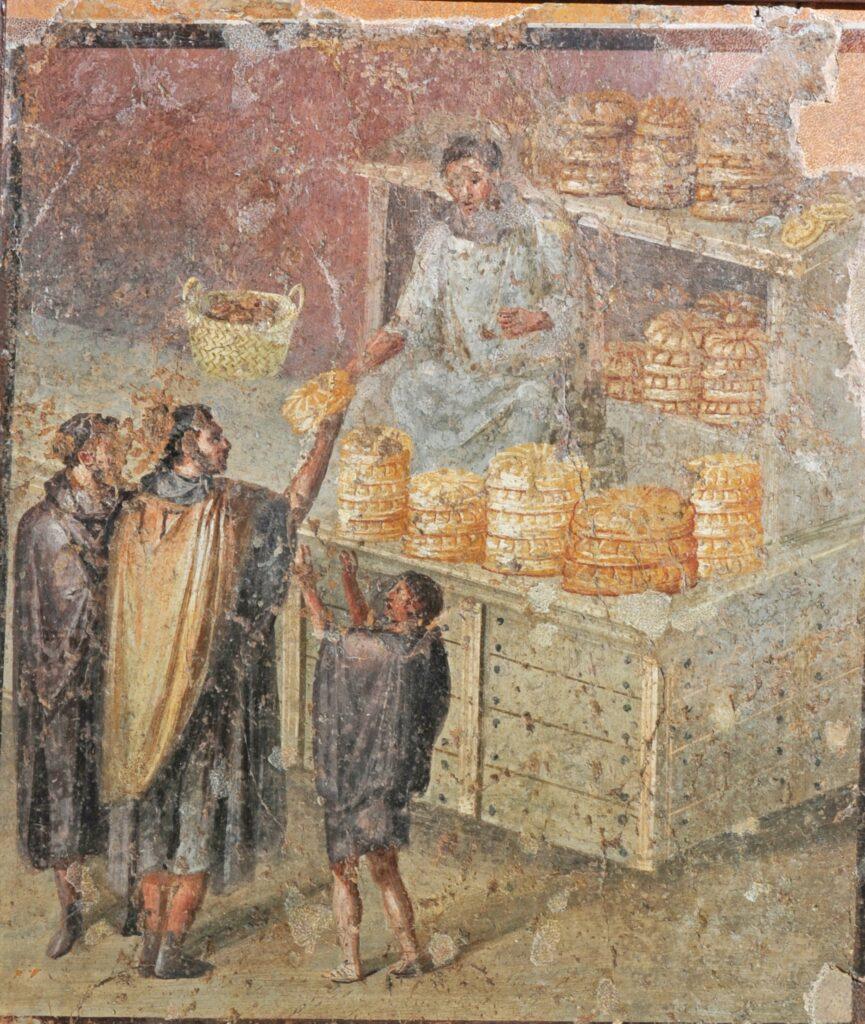 Mosaique de Pompéi